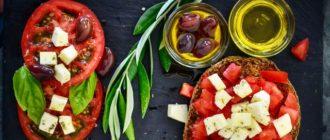 Вегетарианское меню на неделю