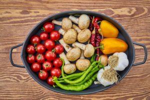 Правильное питание - диетические блюда: фаршированные грибы и другие рецепты
