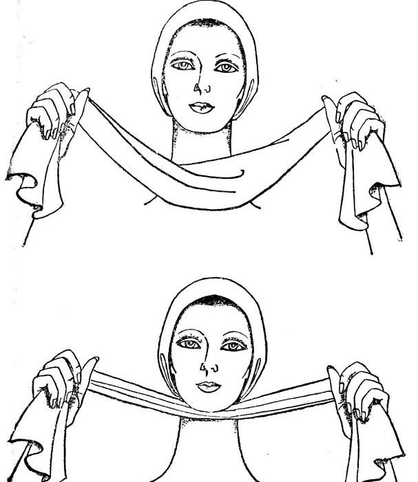 Гимнастика и массаж для подбородка